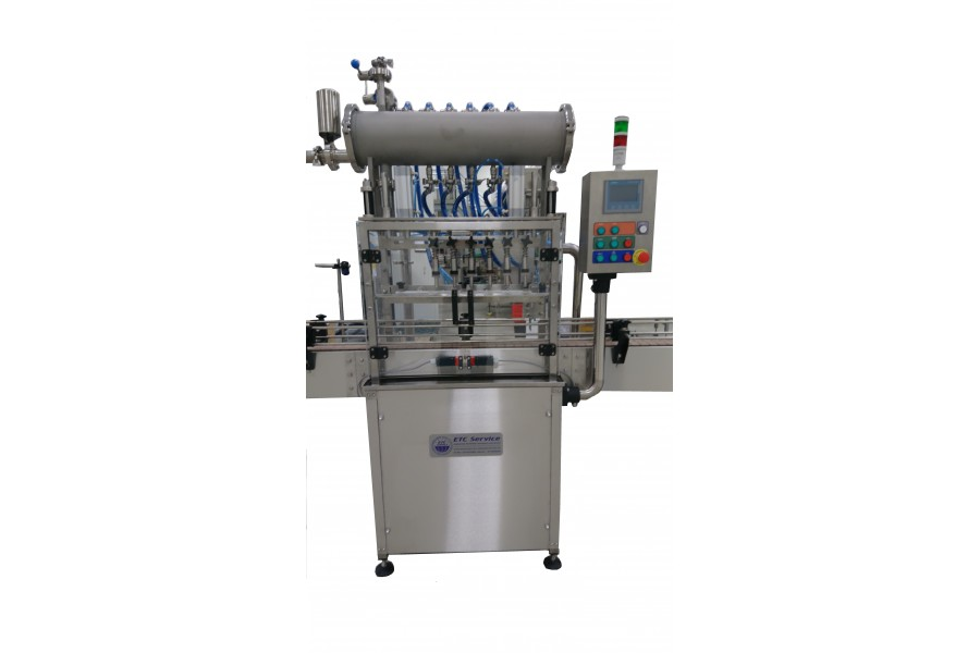 Оборудование для розлива жидкостей в бутылки от завода